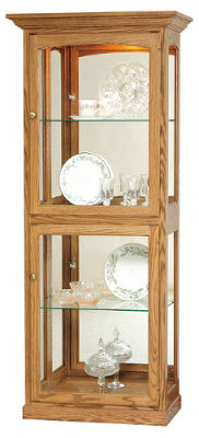 Hardwood Curio Display Cabinet