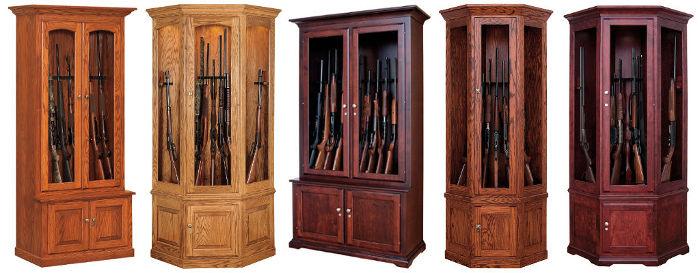 Gun Cabinets Display Curio