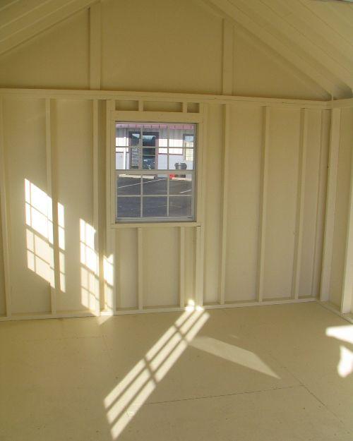 Painted Interior   Bare Stud Walls