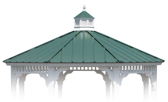 Cupola   Shown With Optional Metal Roof