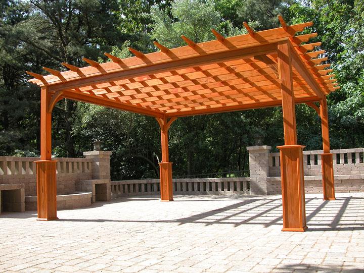 pergola woodworking