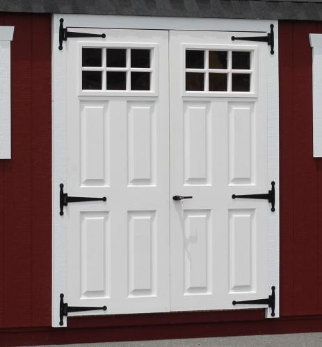 Best Prehung Exterior Double Doors Ideas Interior Design For A Shed Choice