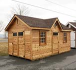 Lapp Structures Victorian Amish Poolhouse Cabana