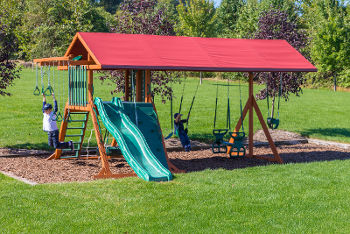 Pennsylvania Amish Built Swingsets Playsets Playgrounds