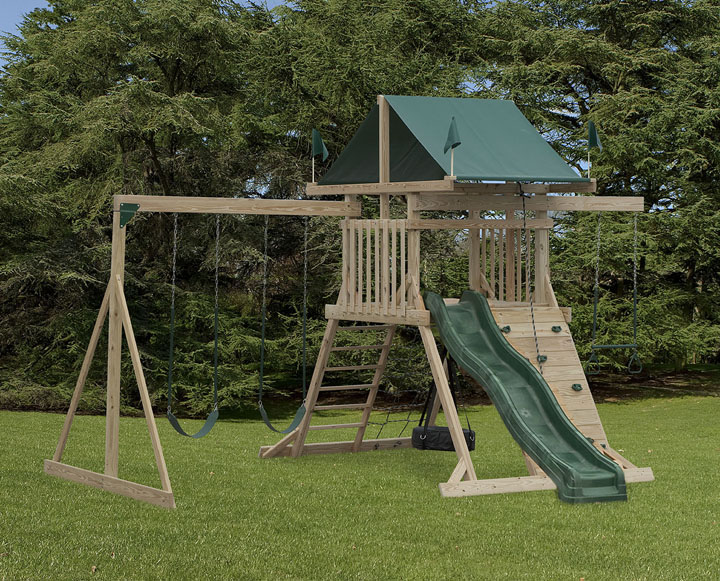 amish made swing sets 2