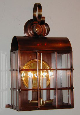 copper lighting fixtures. Philadelphia Lantern Copper Lighting Fixtures