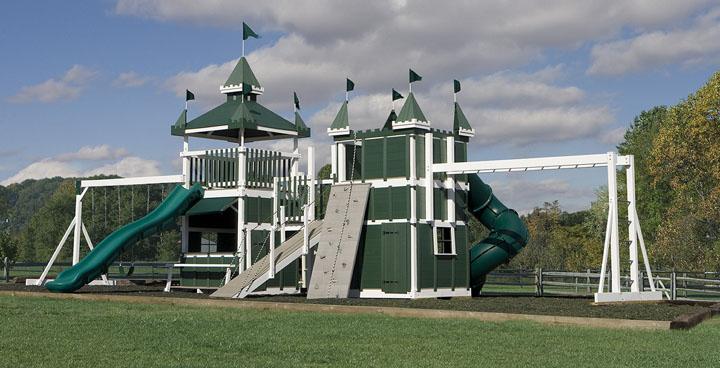 Castle Swingsets